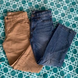 2 Pairs of Cat & Jack jeans